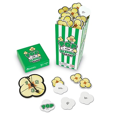 Learning Resources® Pop For Blends™ Game, Grades 1+