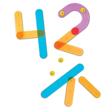 Learning Resources® Number Construction Set, 50/Set