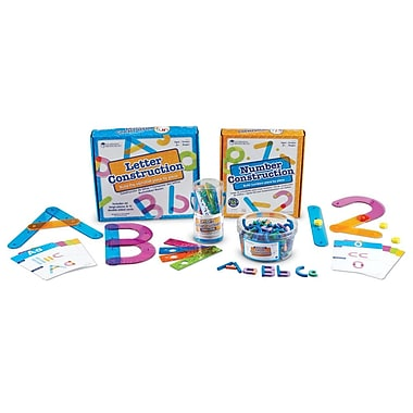 Learning Resources® Letter and Number Construction Kit
