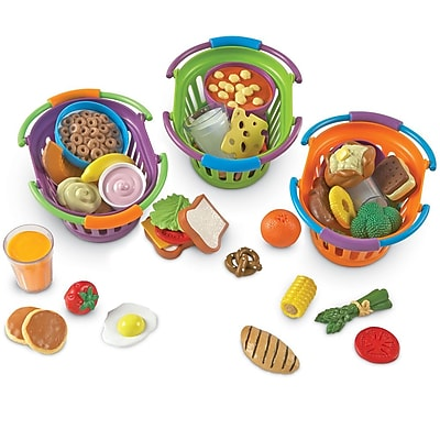 Learning Resources® New Sprouts® Breakfast, Lunch & Dinner Baskets