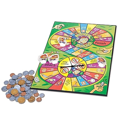 Learning Resources® Canadian Version Money Bags™ A Coin Value Game