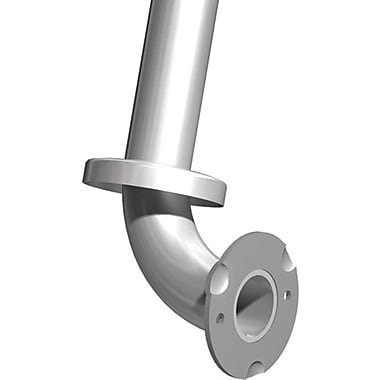 ASI Stainless Steel Grab Bar,Snap Flange, 24