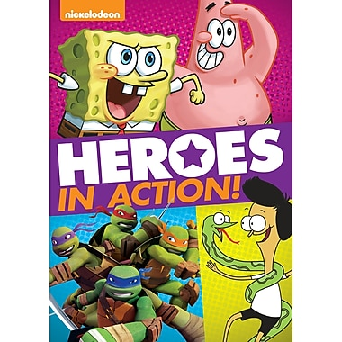 Nickelodeon: Heroes in Action! (DVD)