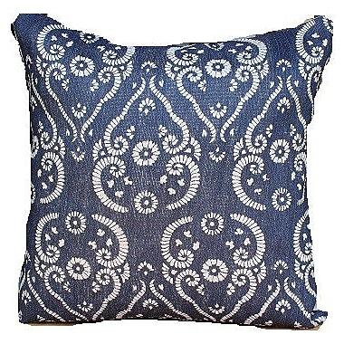 Auburn Textile Jute Printed Accent Throw Pillow