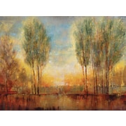 Portfolio Canvas inch Summer Solstice inch Painting Print on Wrapped Canvas