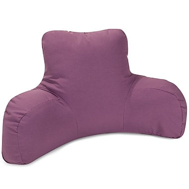 Majestic Home Goods Indoor/Outdoor Bed Rest Pillow; Lilac
