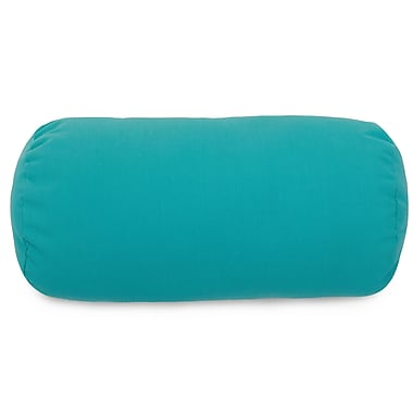Majestic Home Goods Bolster Pillow; Teal