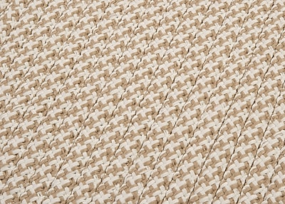 Colonial Mills Outdoor Houndstooth Tweed Area Rug; Cuban Sand Sample Swatch