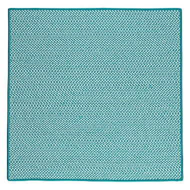 Colonial Mills Outdoor Houndstooth Tweed Area Rug; 8' Square