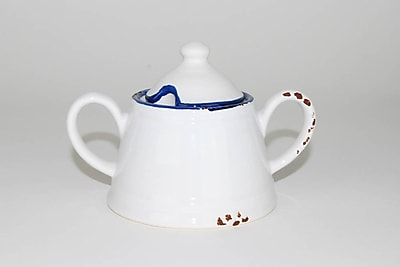 Image of 100 Essentials Enamel Sugar Bowl w/ Lid