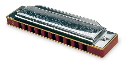 SUZUKI 1072-Bb Folkmaster Harmonica Key of Bb