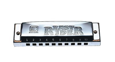 Suzuki Easy Rider 10-Hole Diatonic Harmonica, Key of C