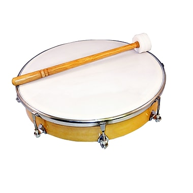 SUZUKI HD-10 Tunable Hand Drum with Mallet 2 Bundle