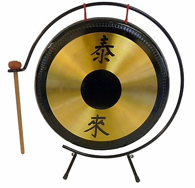 Suzuki Brass Gong with Stand and Mallet, 14