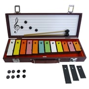 SUZUKI TB-12 12 Note Colorful Tone Bell Set with Carrying Case