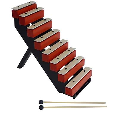 SUZUKI TB-25 Musical Instrument Corporation Step Bells with Stand & Mallets