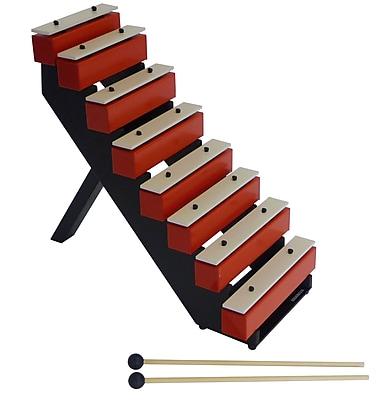 Suzuki Musical Instrument Corporation Step Bells with Stand & Mallets