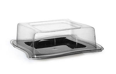 Fineline Settings Wavetrends 106-L Dessert Plate, Clear