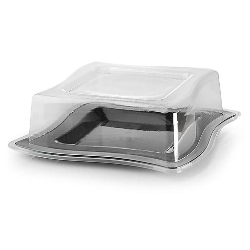 Fineline Settings Wavetrends 109-L Dinner Plate, Clear | Staples
