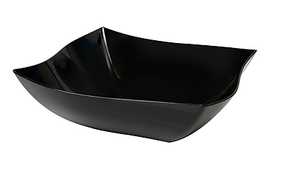 Fineline Settings Wavetrends 128-BK Serving Bowl, Black