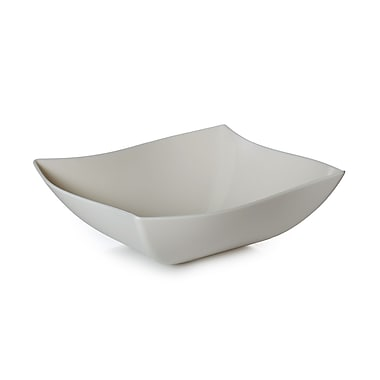 Fineline Settings Wavetrends 164-BO Serving Bowl, Bone