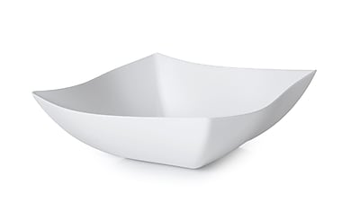 Fineline Settings Wavetrends 164-WH Serving Bowl, White