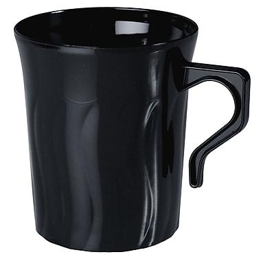 Fineline Settings Flairware 208-BK Coffee Mug, Black