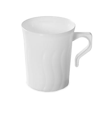 Fineline Settings Flairware 208-WH Coffee Mug, White