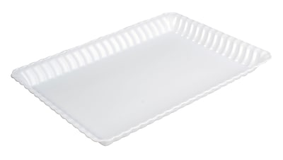 Fineline Settings Flairware 293 Serving Tray, White
