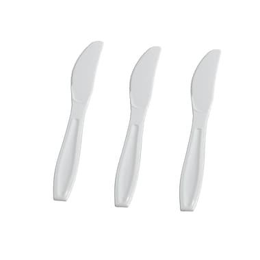 Fineline Settings Flairware 2524-WH Knives Bulk, White