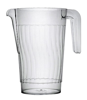 Fineline Settings Platter Pleasers 3401 Clear Pitcher