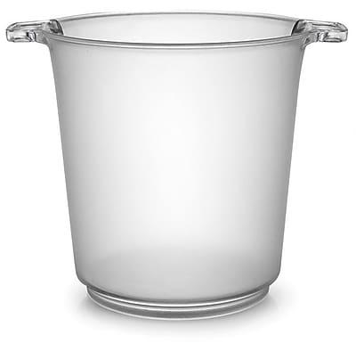 Fineline Settings Platter Pleasers 3403 Clear Ice Bucket