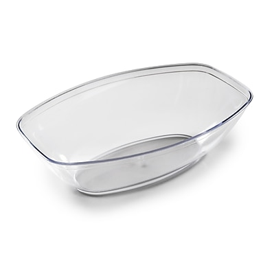 Fineline Settings Platter Pleasers 3501 Luau Bowl, Clear