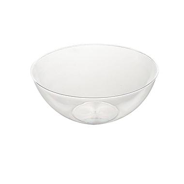 Fineline Settings Platter Pleasers 3504 Serving Bowl, Clear