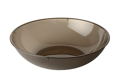 Fineline Settings Platter Pleasers 3505 Serving Bowl, Smoke