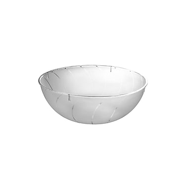 Fineline Settings Platter Pleasers 3502 Serving Bowl, Clear