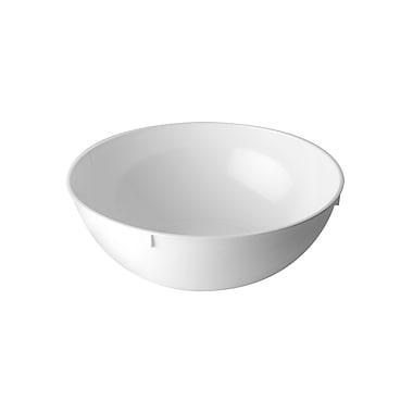 Fineline Settings Platter Pleasers 3502 Serving Bowl, White