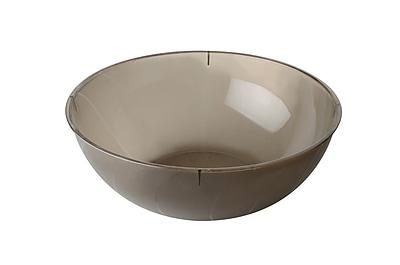 Fineline Settings Platter Pleasers 3502 Serving Bowl, Smoke