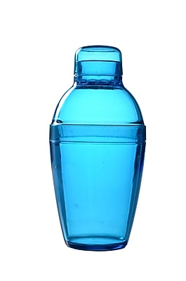 Fineline Settings Quenchers 4101 Neon Cocktail Shaker, Blue