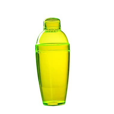 Fineline Settings Quenchers 4102 Neon Cocktail Shaker, Yellow
