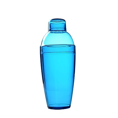 Fineline Settings Quenchers 4103 Neon Cocktail Shaker, Blue