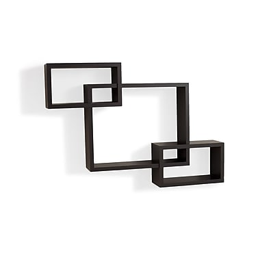 Danya B YU008 Intersecting Wall Shelf