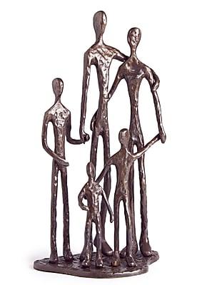 Danya B ZD11021 Family of Five Bronze Sculpture