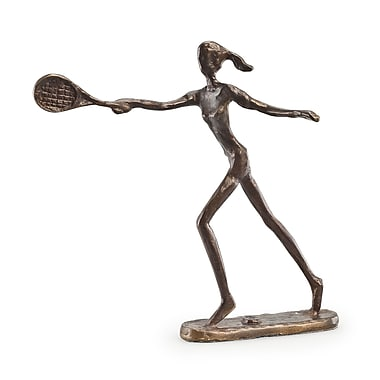 Danya B ZD110421 Female Tennis Player Bronze Sculpture
