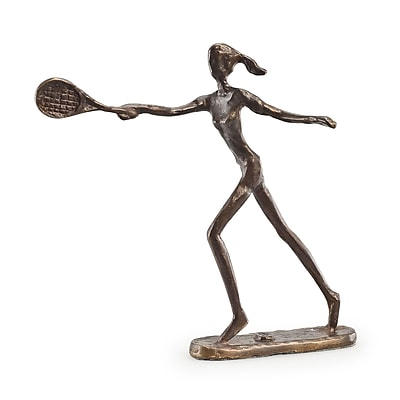 Danya B ZD110421 Female Tennis Player Bronze Sculpture
