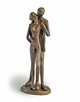 Danya B ZD11075 Couple Kissing Bronze Sculpture