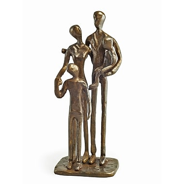 Danya B ZD1152 Family of Four Bronze Sculpture