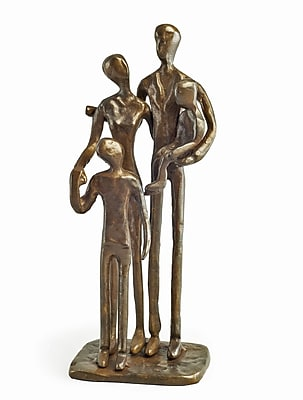 Danya B ZD1152 Family of Four Bronze Sculpture