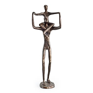 Danya B Proud Father with Child Bronze Sculpture (ZD3219S)