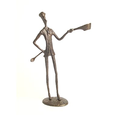 Danya B Chef Bronze Sculpture (ZD4244)